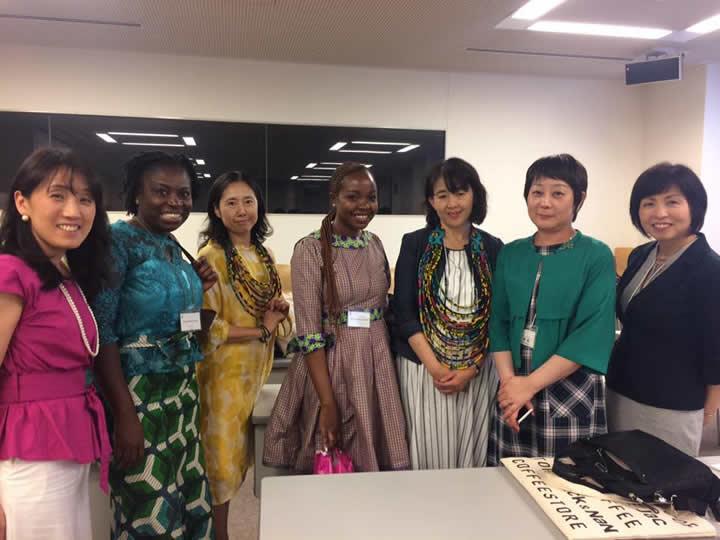 アフリカ女性起業家交流会