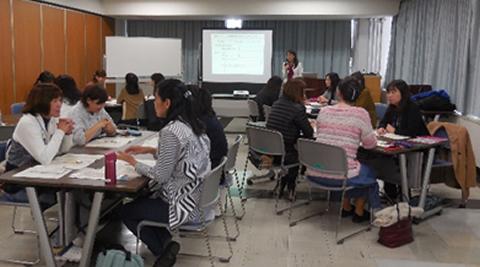 埼玉県女性起業ネット集客セミナーの様子