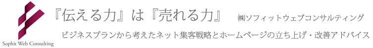 ホームページ集客方法アドバイス(横浜・東京)|ソフィットウェブコンサルティング